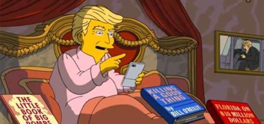 Donald Trump en Los Simpson | Imagen: captura de video