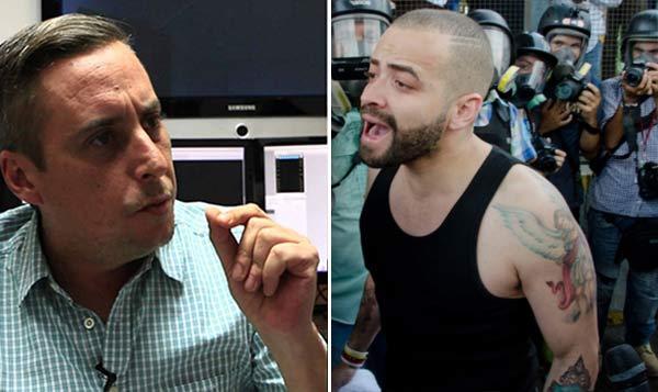 Roque Valero afirmó que denunciará a Nacho | Composición Notitotal