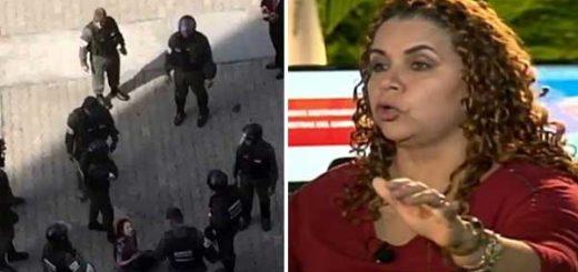 Iris Varela dice que periodista Elyangélica González se victimiza tras ataque de la GNB | Captura de video