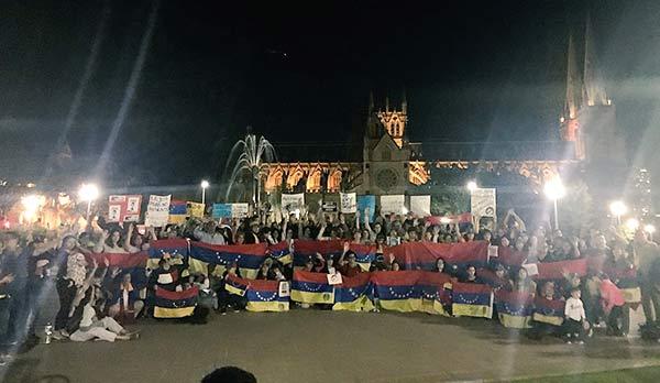 Venezolanos en Australia | Foto: @delia_deviez