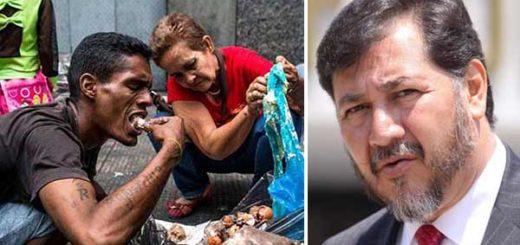 Gerardo Fernández Noroña niega que venezolanos coman de la basura | Notitotal
