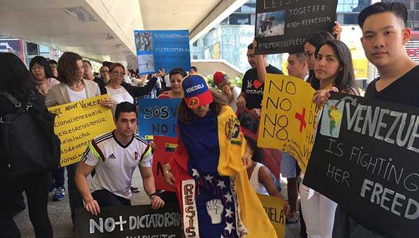 Venezolanos en Hong Kong | Foto: AlbertoRT51
