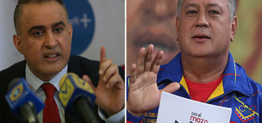 Tarek William Saab / Diosdado Cabello | Composición: NotiTotal