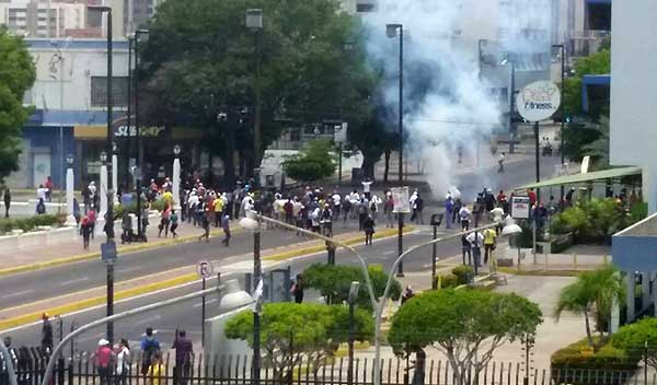 Protesta en Zulia | Foto: Twitter