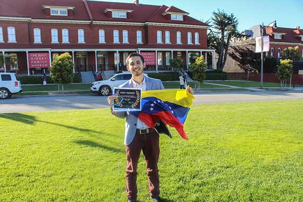 Otorgan premio de animación a venezolano en Walt Disney | Foto: El Nacional