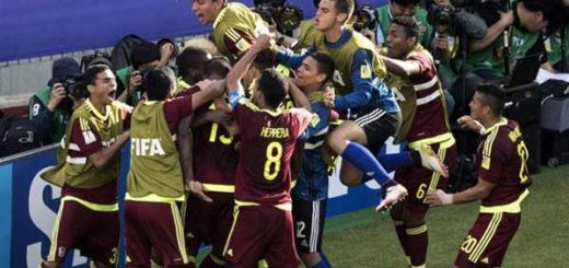 La Vinotinto entra por la puerta grande a octavos de final del Mundial Sub-20 tras vencer a México | Foto: FIFA