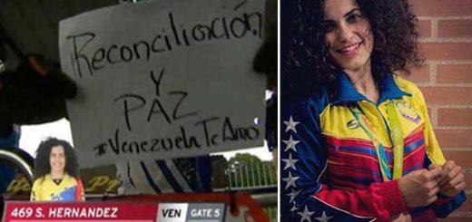 Stefany Hernández envió mensaje de reconciliación a Venezuela | Composición