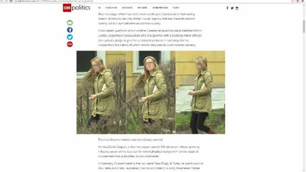 CNN fue la primera en publicar la historia de Daniela Greene.   Foto: CNN
