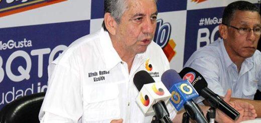 Alfredo Ramos, alcalde del municipio Iribarren en Lara |Foto: El Nacional