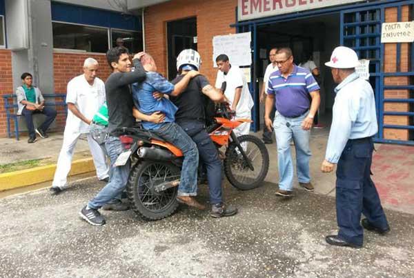 Reportan 3 personas arrolladas durante plantón en Cabudare | Foto: El Impulso