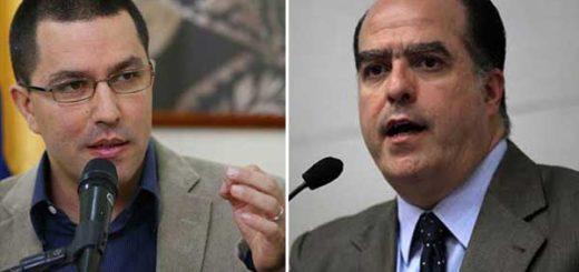 Arreaza asegura que Borges envió carta a evento en Australia para tratar de alejar a inversionistas de Venezuela | Composición