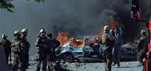 Al menos 80 muertos por atentado terrorista en Kabul   Foto: AFP