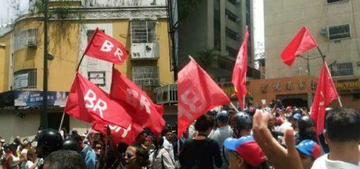 Bandera Roja asistió a marcha opositora |Foto: Twitter