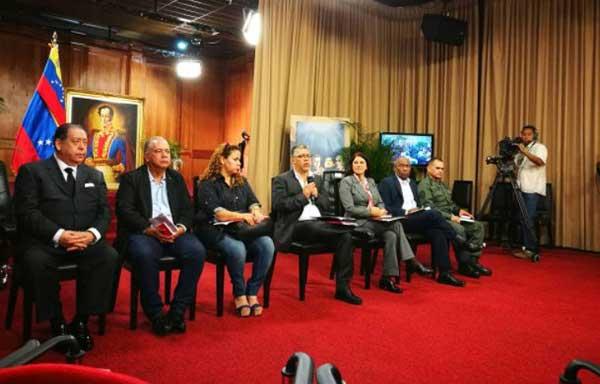 Comisión Presidencial para la Constituyente se reunirá con los poderes públicos este miércoles | Foto: @VTVCanal8
