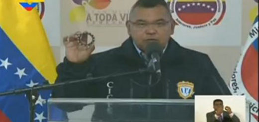 Ministro Néstor Reverol | Foto: Captura de video