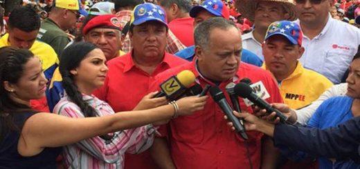 Diosdado Cabello, Primer Vicepresidente del PSUV   Foto: @Efectococuyo