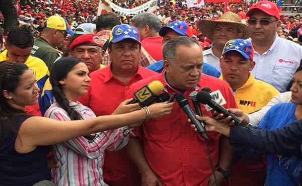 Diosdado Cabello, Primer Vicepresidente del PSUV | Foto: @Efectococuyo