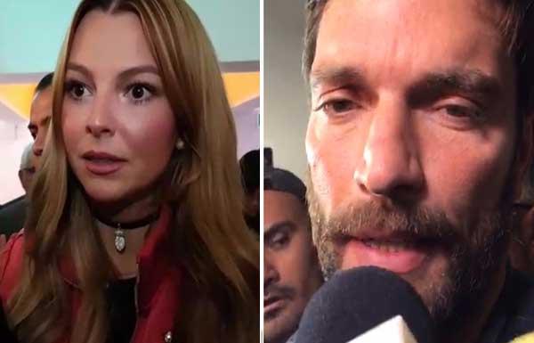 Julián Gil confirma que el pleito con Marjorie de Sousa continúa   Composición