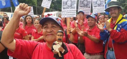 Oficialismo marchará mañana en apoyo a Constituyente | Foto: @VTVCanal8