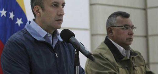 "El Aissami afirma que fue desmantelada ""célula armada"" que operaba en Caracas | Foto: @NestorReverol"