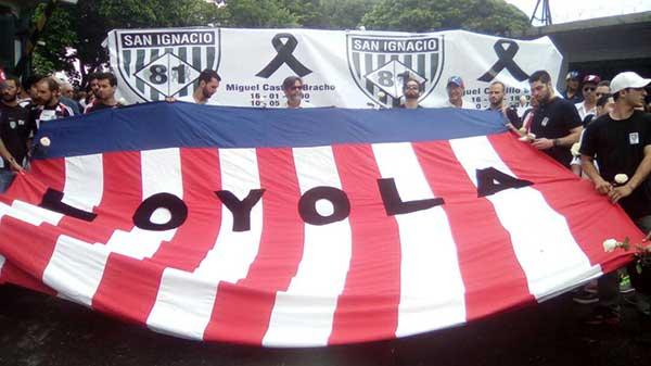 Estudiantes del colegio San Ignacio | Foto: Twitter