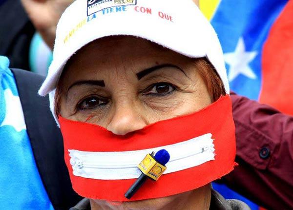 Denuncian escalada de ataques contra medios de comunicación en Venezuela | Foto: vía @RichardBlancoOf