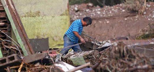 Temporal en Chile dejó varios destrozos en viviendas |Foto: EFE