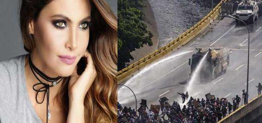 Chiquinquirá Delgado envió contundente mensaje a la FANB por brutal represión contra manifestantes | Composición