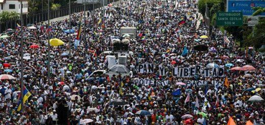 Venezuela protesta #ContraLaCensura |Foto: Reuters