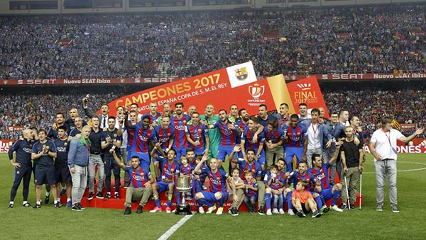 Barcelona ganó La Copa del Rey |Foto: José Antonio García Sirvent - MD