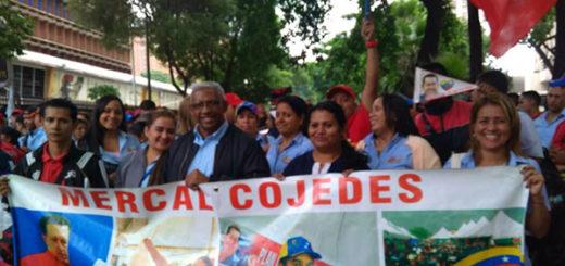 Movilización del sector alimentación llegará hasta el Palacio de Miraflores | Foto: @VTVCanal8