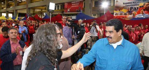 "Maduro creará ""festival de rock"" con Paul Gillman | Foto:   @DomingosMaduro"