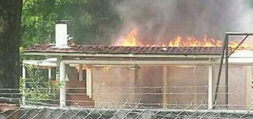 Ni la casa materna de Chávez se salvó de la furia en Barinas  | Foto: Twitter