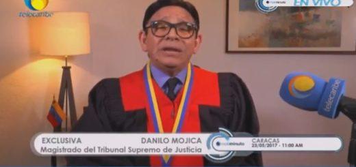 Magistrado del TSJ, Danilo Mojia | Captura de video