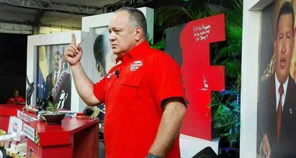 Diosdado Cabello, Vicepresidente de la PSUV | Foto: Twitter