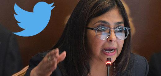 Delcy Rodríguez,, cabeza de la Cancillería venezolana | Foto: Notitotal