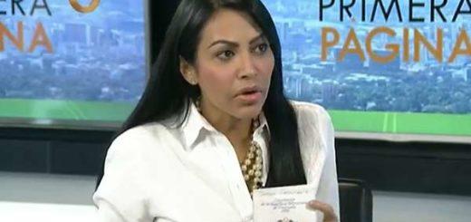 Delsa Solórzano habla de la Constituyente |Captura de video