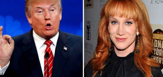 Donald Trump / Kathy Griffin | Composición