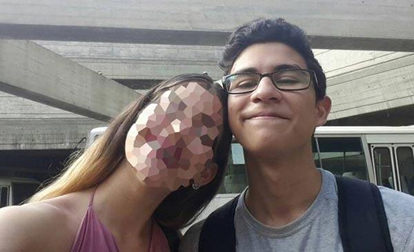 Denuncian desaparición de estudiante de la UCV   Foto: Twitter