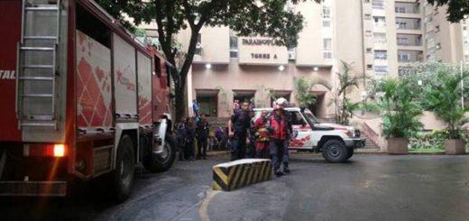 Explosión en residencias de El Paraíso |Foto: Erwins Blanco