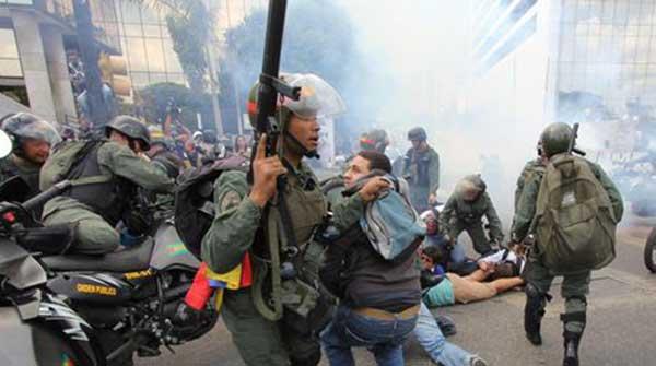 ONU recuerda que hay más de un millar detenidos por protestas en Venezuela   Foto: Referencial