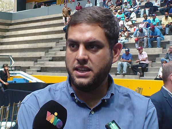Juan Requesens, diputado por la Mesa de la Unidad Democrática  Foto: Prensa AN