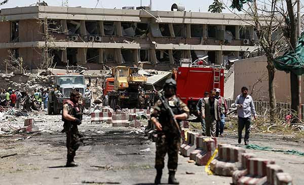 El atentado en Kabul, uno de los peores de los últimos años en Afganistán | Foto: Reuters