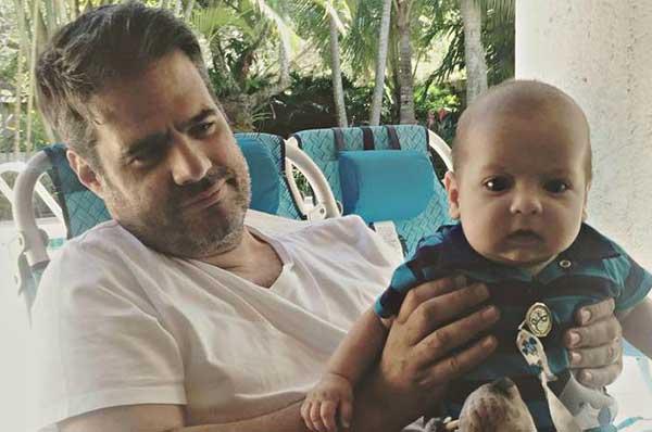 Lo que reveló Luis Chataing sobre la salud de su hijo Sebastián   Foto: Instagram