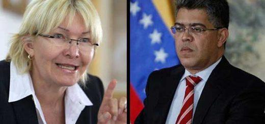 Fiscal General de la República, Luisa Ortega Díaz replica a Elías Jaua |Composición: Notitotal