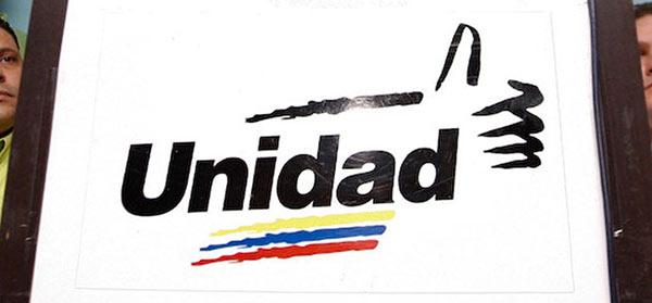Mesa de la Unidad Democrática (MUD)  Foto archivo