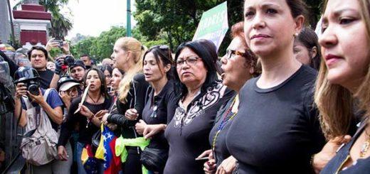 Marcha de las madres |Foto: Prensa María Corina