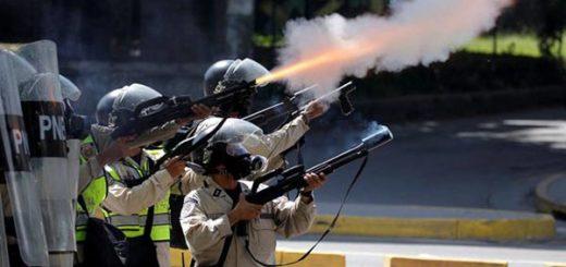PNB reprimió a estudiantes durante la marcha del #30May |Foto: Reuters
