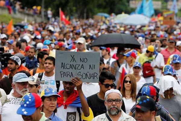Marcha opositora contra la Constituyente de Maduro #3Mayo |Foto: REUTERS