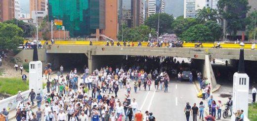 Oposición marcha este #24May hasta sede del CNE |Foto Twitter